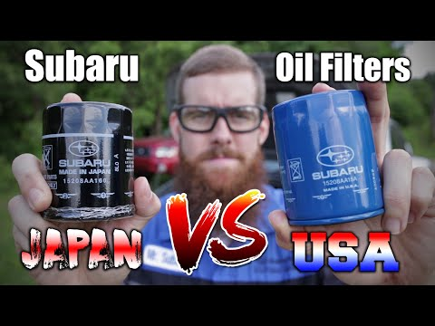 Subaru Crosstrek Oil Filter Showdown: USA vs Japan