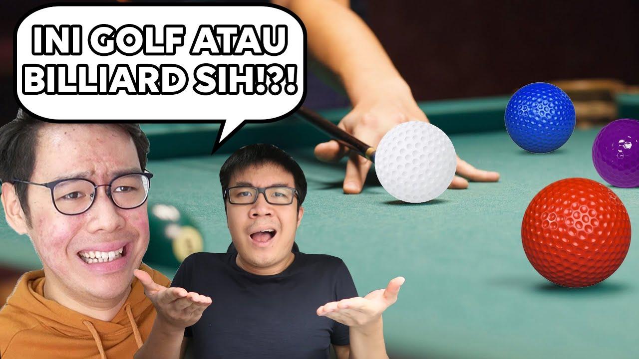 Download INI MAIN GOLF APA BILLIARD SIH WOI!?! 😂😂😂