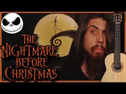 This is Halloween - The Nightmare Before Christmas (Classical Guitar Cover)