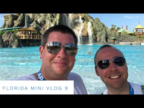 Walt Disney World Florida September 2018 - Daily Mini Vlog 9 - Volcano Bay & Villa time