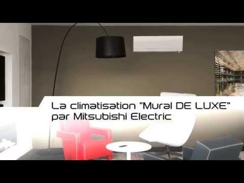 """Climatiseur Mural Réversible """"De Luxe Msz Fh"""" De Mitsubishi"""