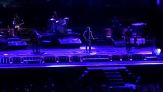 """Bruce springsteen - the river 2016 tour, live in camp nou stadium, barcelona may 14, 2016. singing """"purple rain"""" homage to prince -as first """"bis"""" after th..."""