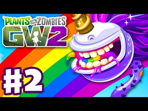 Plants vs Zombies: Garden Warfare 2 - Gameplay Part 2 - Unicorn Chomper and Loyalty Rewards PC