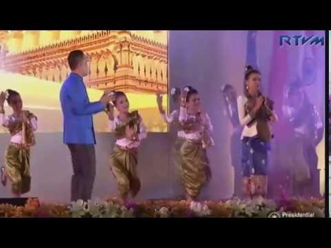 Cambodian Song - ASEAN Gala dinner Vientiane Laos