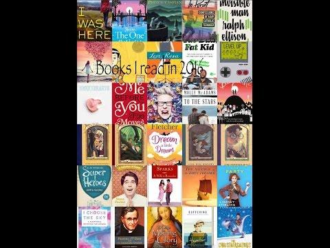 The books I read in 2016!