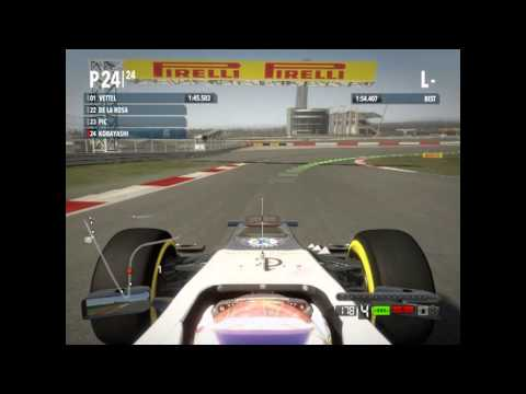 EN Commentary. F1 2012. Quick race. United  states GP.