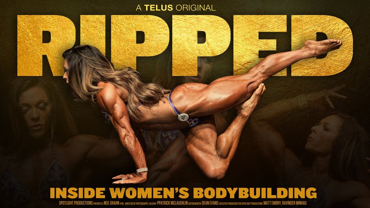 Bodybuilding women tube
