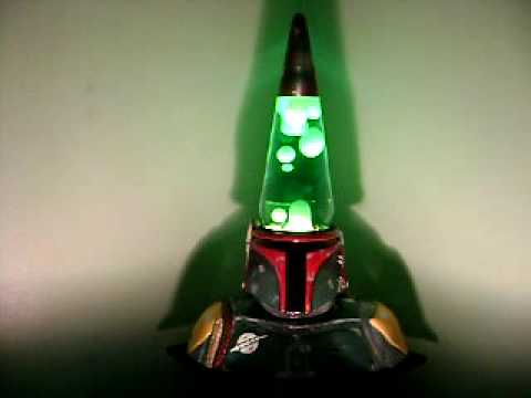 Star Wars Lava Lamp Delectable Boba Fett Lava Lamp YouTube