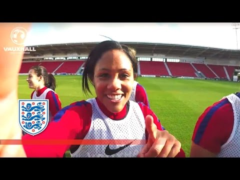 Doncaster to Real Madrid - All access England camp #ScottieCam | Player Diaries