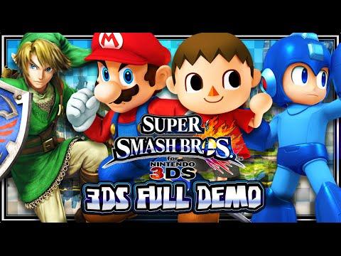 Super smash bros wii u amp 3ds full nintendo 3ds demo 1080p