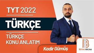 36) Kadir GÜMÜŞ - Ek Fiil (Ek Eylem) Soru Çözümü (TYT-Türkçe) 2022