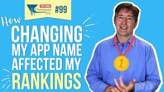 How Changing My App Name Affected My Ranking