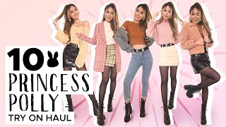 HUGE PRINCESS POLLY Fall Try-On Haul 2019