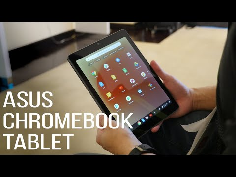 This Asus Chromebook Tablet is meant for the education market
