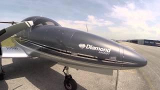 Diamond DA62 Testflug