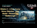 Mission 2- A New Enemy - Bonus Objective - Gold Medal - Phoenix Logs Walkthrough (Halo Wars 2)