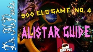 900 Elo Game 4 - Alistar Guide