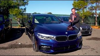 A car that parks itself: 2017 BMW 5 Series SELF PARKING DEMO – EXTENDED VERSION – G30 5er/540