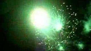 Fireworks display Lucena City Philippines