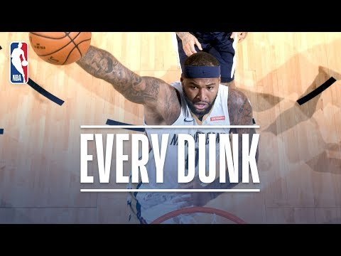 DeMarcus Cousins, Hassan Whiteside, and Every Dunk From Friday Night | November 17, 2017