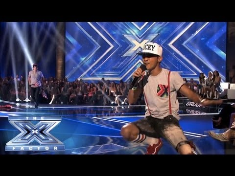 Were Wild Thingz Sorry For Party Rocking? - THE X FACTOR USA 2013