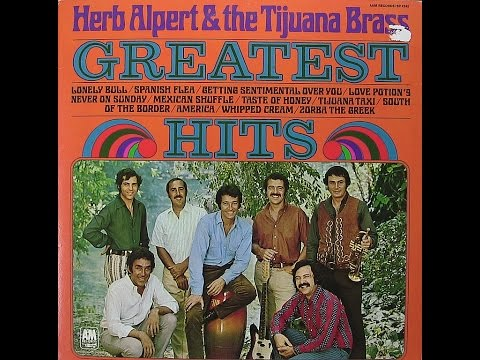 """1970"" ""Greatest Hits"" L.P., Herb Alpert and the Tijuana Brass (Classic Vinyl)"