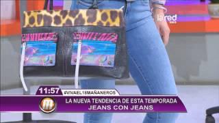 La nueva tendencia en la moda del jeans con jeans
