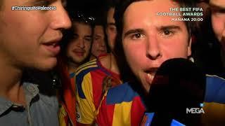 MÁXIMA ILUSIÓN de la afición en la PUERTA 52 de Mestalla tras GOLEAR al Sevilla (4-0)