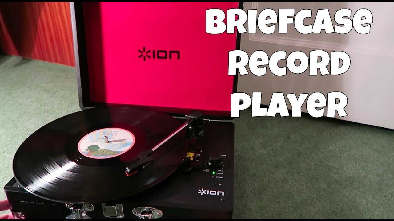 Briefcase Turntable Portable Record Player