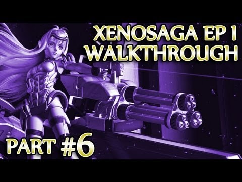Ⓦ Xenosaga Ep. 1 Walkthrough - Part 6 ▪ DOMO Carrier Boss Fight, Jr.'s Introduction [PCSX2/1080p]