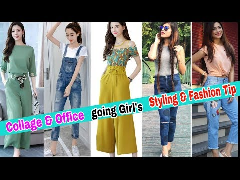 Collage & office going girls Outfits idea 2019 /Stylish jeans Top,  T-Shirt design 2019. http://bit.ly/2zwnQ1x