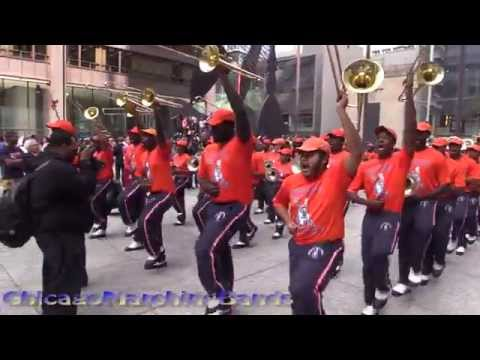 Howard University and Morgan State Marching Bands 2015