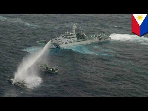 Philippines accuses China of attacking fishermen with water cannon