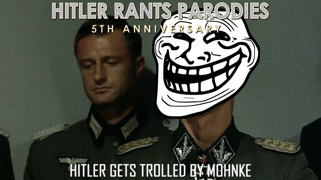 Hitler gets trolled by Mohnke