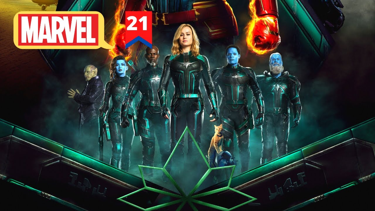 Download Captain Marvel Movie Explained In Hindi | MCU Movie 21 Explained In Hindi | Hitesh Nagar