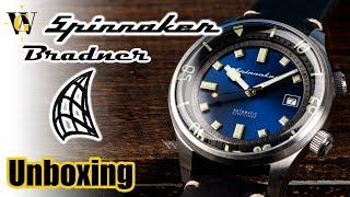 Spinnaker Bradner SP5057 - unboxing & first impressions