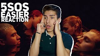 5 SECONDS OF SUMMER- EASIER  |E2 reacts