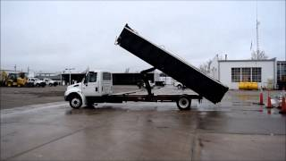 2007 International 4100 dump truck for sale | sold at auction April 7, 2015