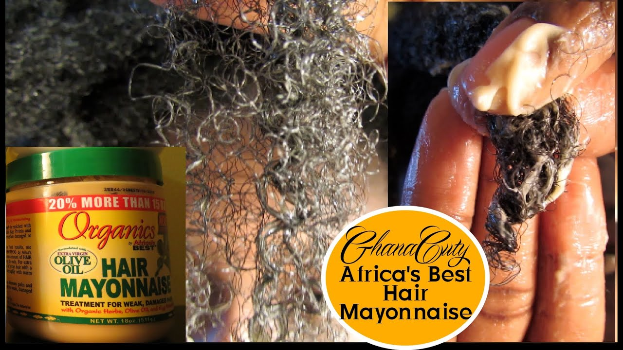 Africa S Best Organics Hair Mayonnaise On Natural Tutorial Review You
