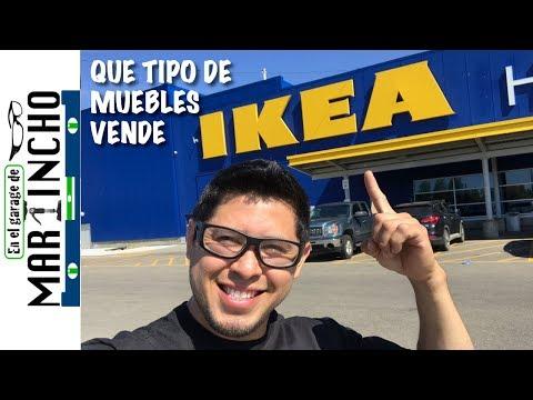 IKEAQue tipo de muebles venden?