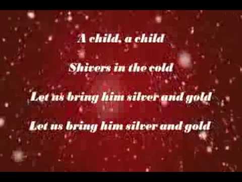 Do You Hear What I Hear with Lyrics by Bing Crosby