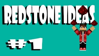 lowercase to UPPERCASE in REDSTONE | Minecraft Redstone Suggestions #1