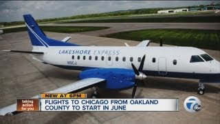 New way to fly from Detroit to Chicago