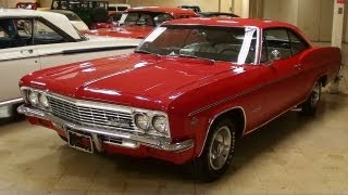 1966 Chevrolet Impala SS 327 V8 Four-Speed