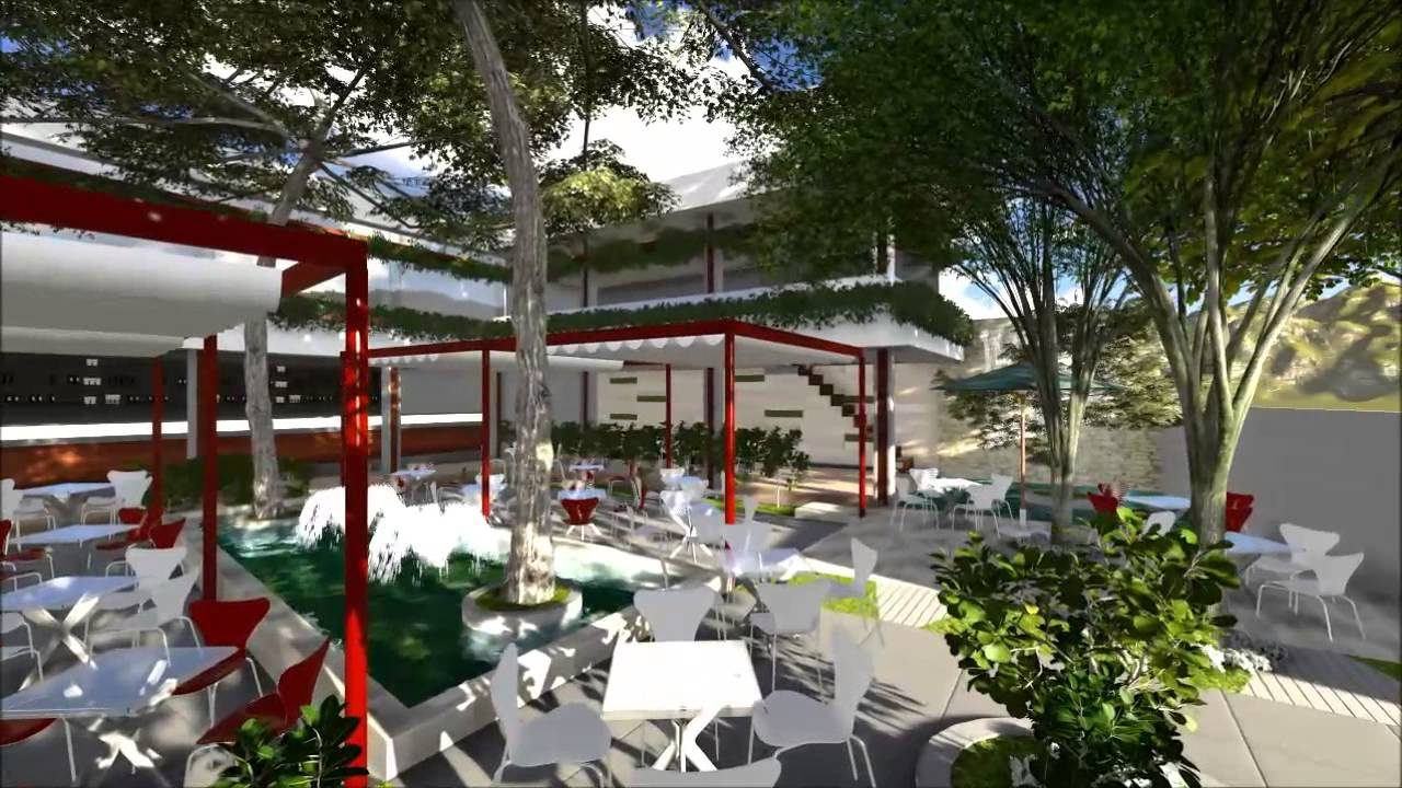 green fields cafe designsonarct - youtube