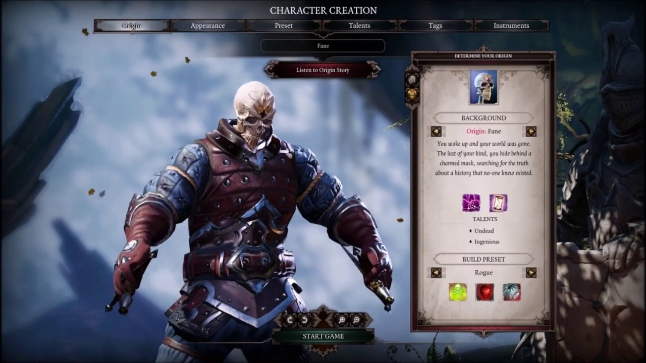 Divinity: Original Sin 2 - How to Build Fane as a Rogue
