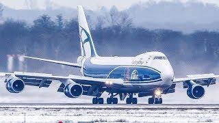 BOEING 747 SNOW LANDING - ASKCargo 010#
