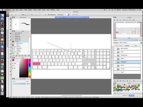 FireAlpaca keyboard Short cuts - YouTube