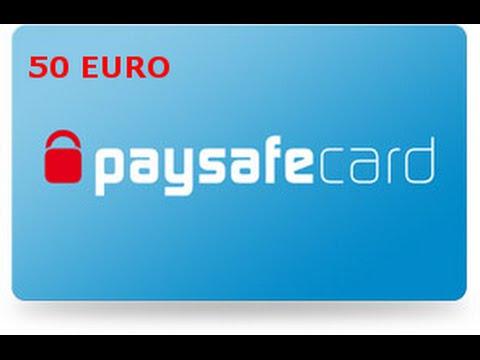 Paysafecard 50 Euro