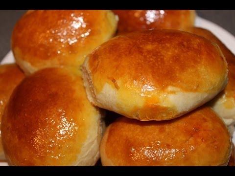 пирожки с капустой из дрожжевого теста в духовке с фото